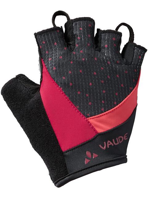 VAUDE Advanced II Gloves Women crimson red